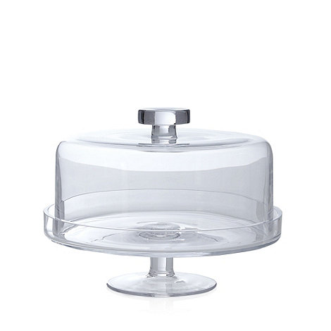 cake stand with cover j by jasper conran glass cake stand with lid debenhams 2336