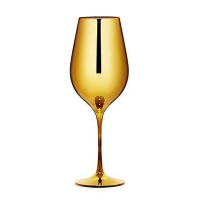 Star by Julien Macdonald Gold wine glass