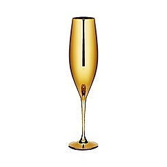 Star by Julien Macdonald - Gold flute glass