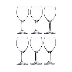 Home Collection Basics - Set of six wine glasses