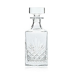 Home Collection - Crystal 'Castalia' square decanter