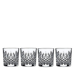 Royal Doulton - Set of 4 lead crystal 'Highclere' tumblers