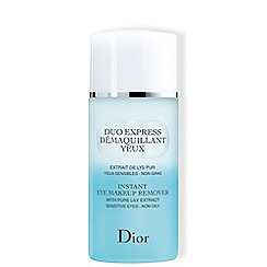 DIOR - 'Instant' eye make up remover 125ml