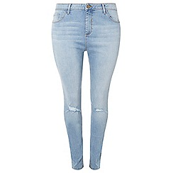 Dorothy Perkins - Curve blue authentic 'darcey' jeans
