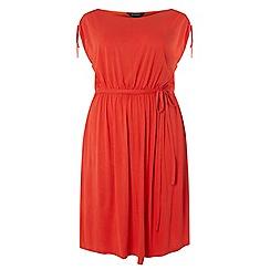 Dorothy Perkins - Curve coral jersey midi dress
