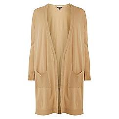 Dorothy Perkins - Curve camel button cardigan