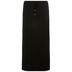 Dorothy Perkins - Curve black toggle maxi skirt