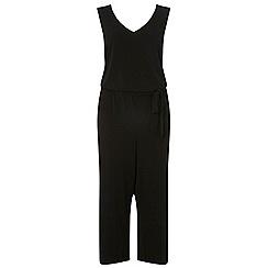 Dorothy Perkins - Curve black culottes jumpsuit