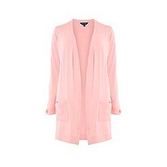 Dorothy Perkins - Curve Pink Button Cuff Cardigan