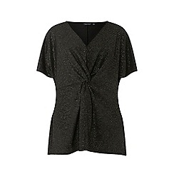 Dorothy Perkins - And silver knot front top