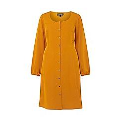 Dorothy Perkins - Curve Yellow Tea Dress