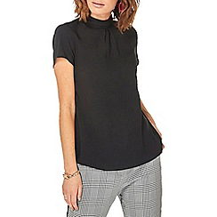 Dorothy Perkins - Black turn back t-shirt