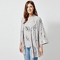 Dorothy Perkins - Silver Foil Cover Up
