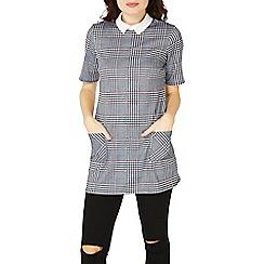 Dorothy Perkins - Multi coloured check print tunic