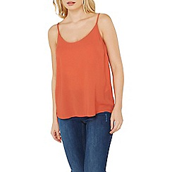 Dorothy Perkins - Coral strappy camisole top
