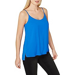 Dorothy Perkins - Cobalt strappy camisole top