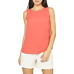 Dorothy Perkins - Light orange sleeveless top