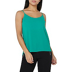 Dorothy Perkins - Green strappy camisole top