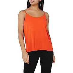 Dorothy Perkins - Orange strappy camisole top