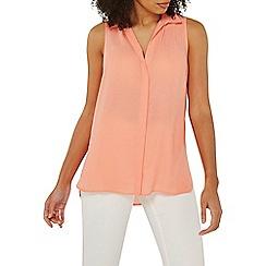 Dorothy Perkins - Coral sleeveless shirt