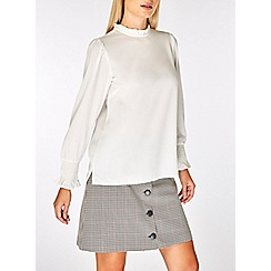 Dorothy Perkins - Iovry shirred cuff top