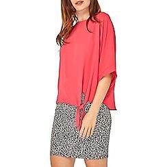 Dorothy Perkins - Pink tie side t-shirt