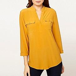 Dorothy Perkins - Ochre ity shirt