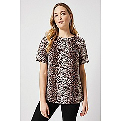 Dorothy Perkins - Multicolour Animal Print Zip Pocket Blouse