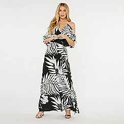 Dorothy Perkins - Black silhouette maxi dress