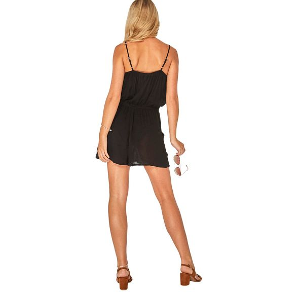 Perkins playsuit black coin Dorothy beachwear detail Beach xYTdSv1wq
