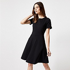 Dorothy Perkins - Black Short Sleeve T-Shirt Dress