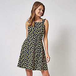 Dorothy Perkins - Multi Colour Tie Waist Fit and Flare Dress