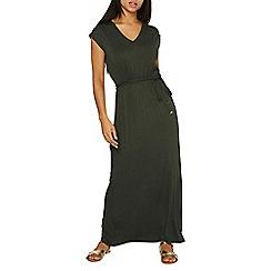 Dorothy Perkins - Green crochet back maxi dress