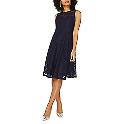 Dorothy Perkins - Navy adele lace dress