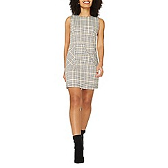Dorothy Perkins - Black checked shift dress