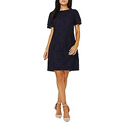 Dorothy Perkins - Navy lace shift dress