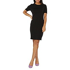 Dorothy Perkins - Black cotton boydcon dress