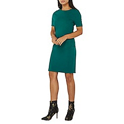 Dorothy Perkins - Green cotton bodycon dress