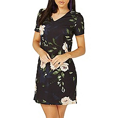 Dorothy Perkins - Navy floral print shift dress