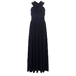 Dorothy Perkins - Navy multiway maxi dress