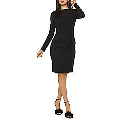 Dorothy Perkins - Black scoop back bodycon dress