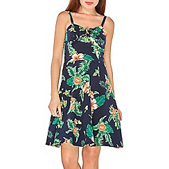 Dorothy Perkins - Navy floral print strappy camisole sundress
