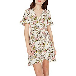 Dorothy Perkins - Ivory floral print fit and flare dress