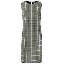 Dorothy Perkins - Grey checked sleevless shift dress