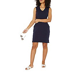 Dorothy Perkins - Navy pocket shift dress