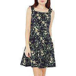 Dorothy Perkins - Navy floral print Sun dress