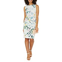 Dorothy Perkins - Ivory floral pencil dress