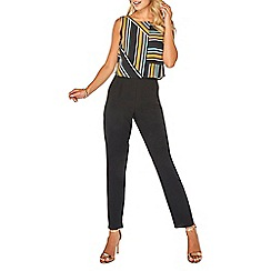 Dorothy Perkins - Multi coloured striped double layer jumpsuit