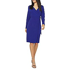 Dorothy Perkins - Cobalt ring wrap dress