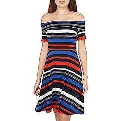 Dorothy Perkins - Multi colour striped skater dress